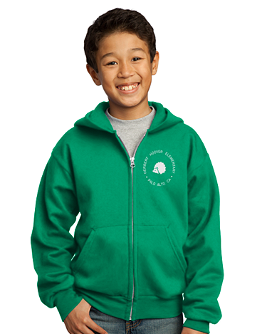 Hoover Elementary Zip Up Hoodie *OLD*
