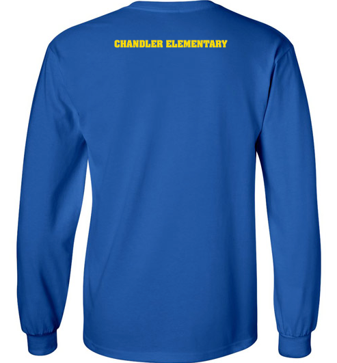 Chandler Cheetah's Long Sleeve T-Shirt