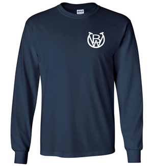 Bonsall West Long Sleeve T-Shirt - NAVY