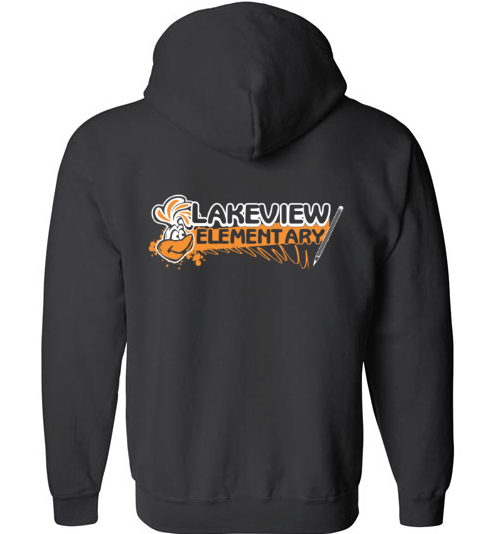 Lake View Unisex Zip Up Hoodie Style #2