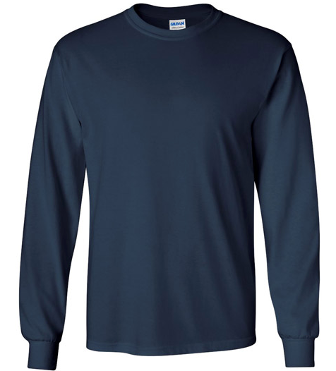Gilden Unisex Long Sleeve
