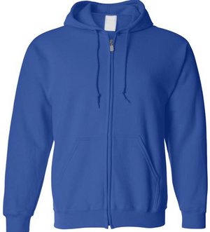 Gilden Unisex Zip Up