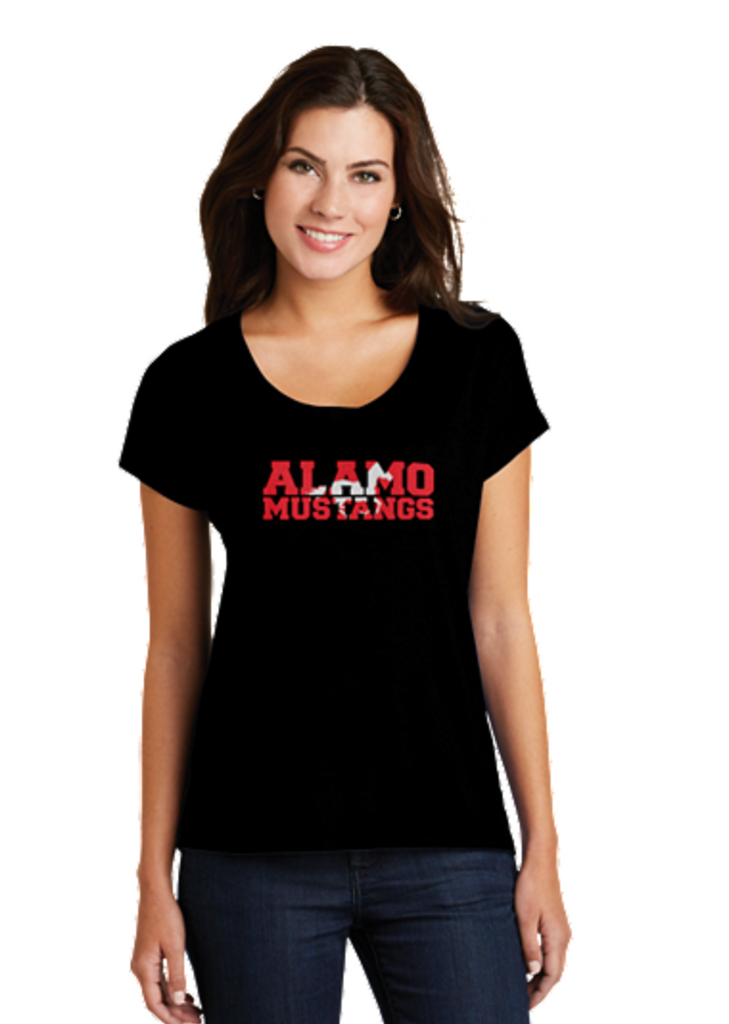 Alamo Elementary District ® Women's Drapey Dolman Tee