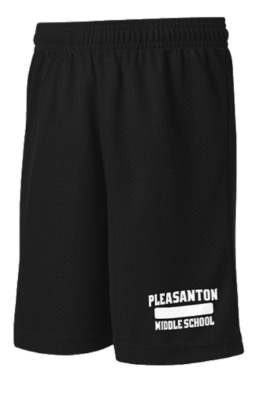 Pleasanton Middle School Physical Education Shorts