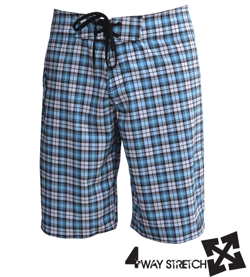 BAREFOOT 4-way stretch boardshort