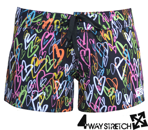 LOVE 4-way Stretch boardshort