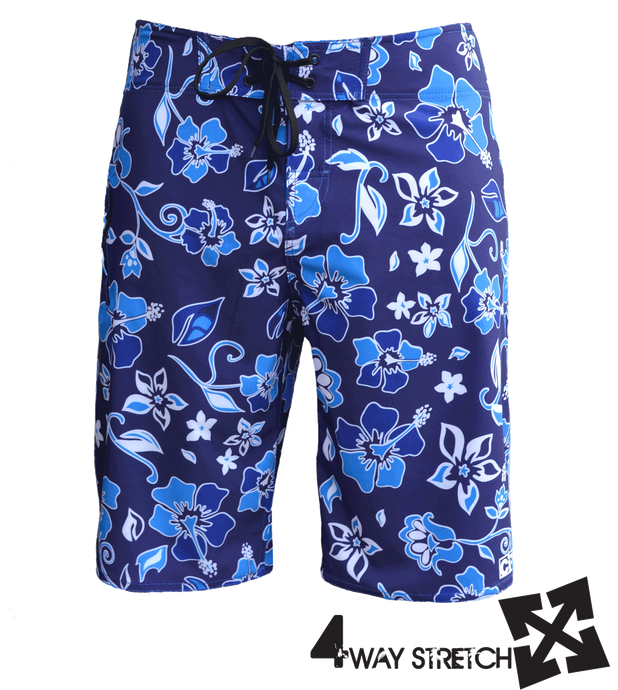 MAHALO 4-way stretch boardshort