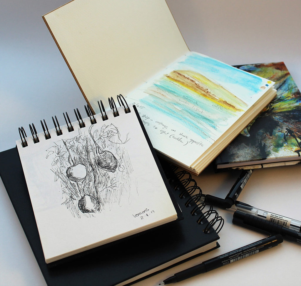 4 Reasons Why Recording & Keeping Your Sketchbooks & Art Journals is a Good Thing