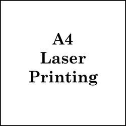 A4 Laser Printing