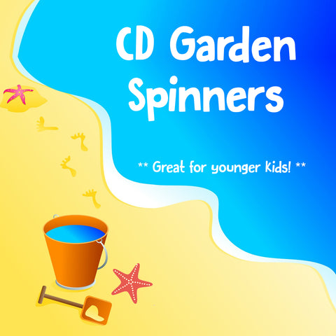 CD Garden Spinners - Fri 3rd Aug
