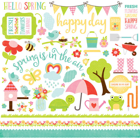 Celebrate Spring Sticker Sheet