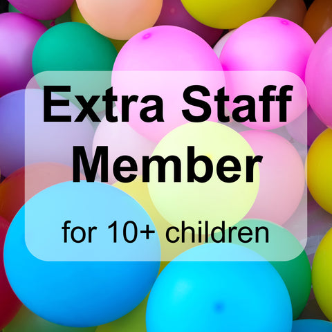 Extra Staff Member