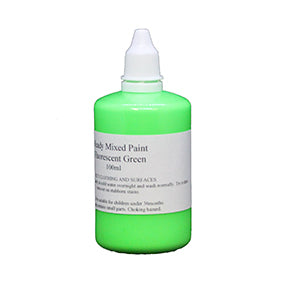 Florescent Paint - Green