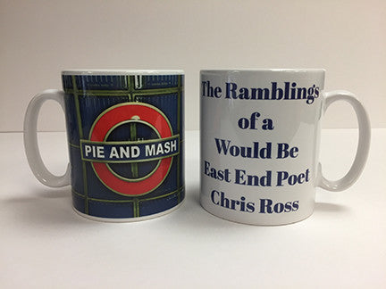 Ceramic 10oz Mug - Pie And Mash 1