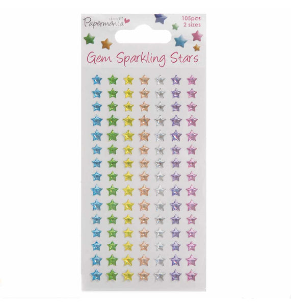 Star Gems - Assorted Pastel