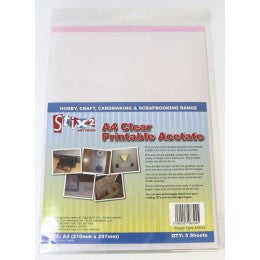 A4 Printable Acetate Sheets