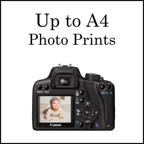 Up To A4 Photo Prints