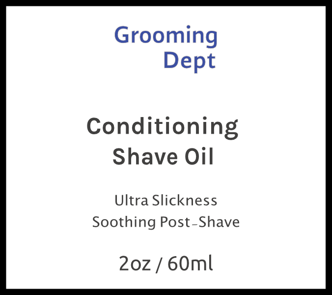 Grooming Dept Conditioning Shave Oil