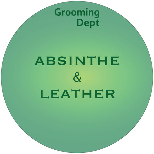 Absinthe & Leather - Tallow Shaving Soap