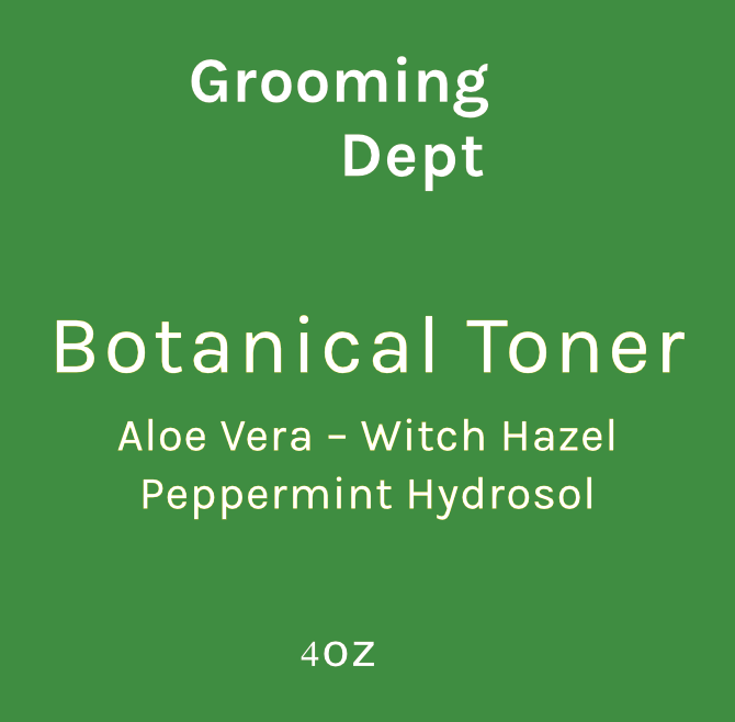 Grooming Dept Peppermint Botanical Toner