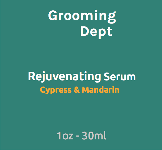 Grooming Dept Rejuvenating Serum Cypress & Mandarin