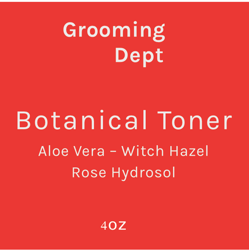 Grooming Dept Rose Botanical Toner