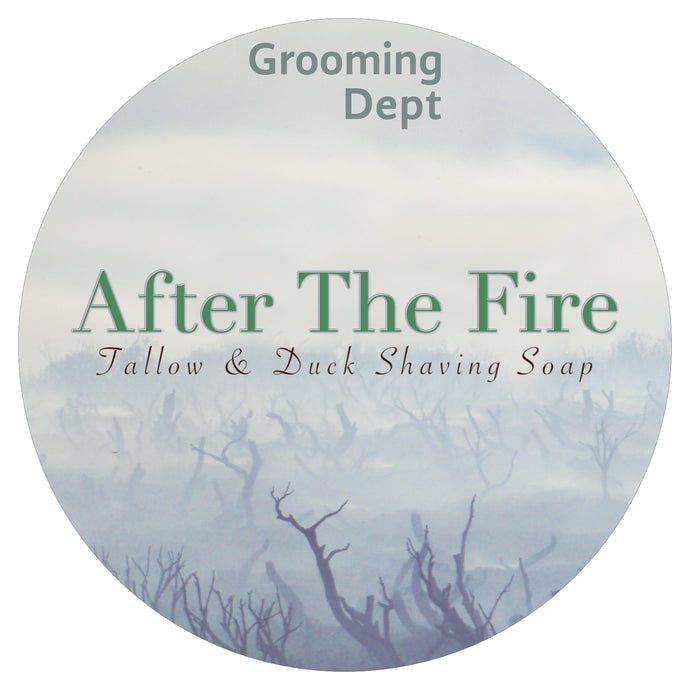 After The Fire - Tallow Beef & Duck Fat Shaving Soap