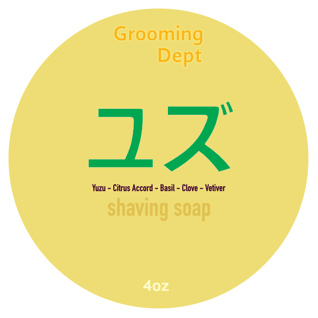 Yuzu - Vegan Shaving Soap