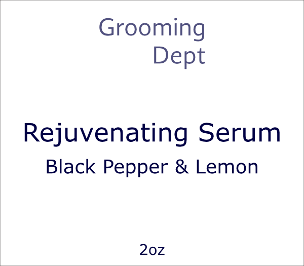 Rejuvenating Serum - Black Pepper & Lemon