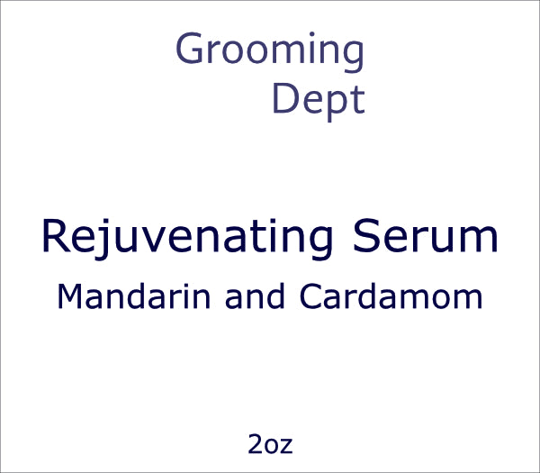 Rejuvenating Serum - Mandarin and Cardamom