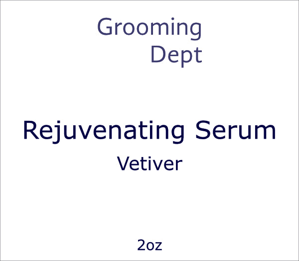 Rejuvenating Serum - Vetiver
