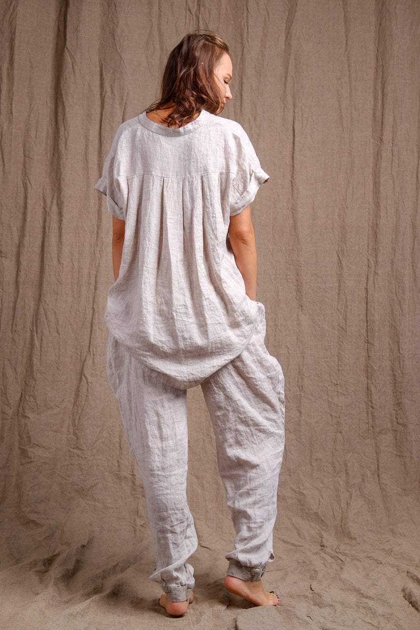 pure, organic and natural linen clothing, high quality flax