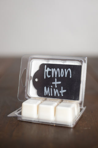 Lemon+Mint Wax Melts