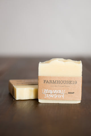 Lemongrass Spearmint Soap