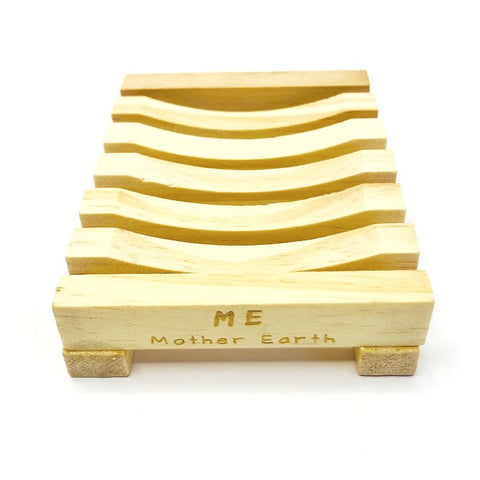 Natural Wood Bamboo Soap Dish