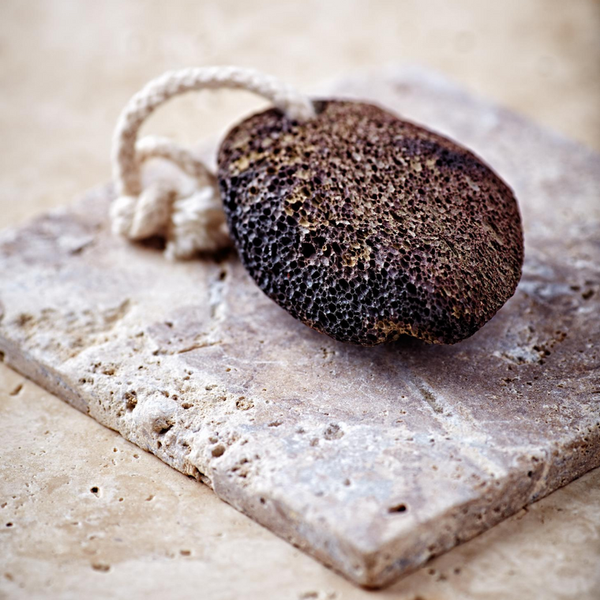 Lava Pumice Stone with Cotton Hanging Loop