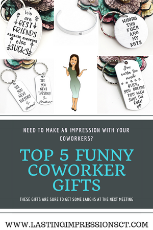 TOP 5 FUNNY COWORKER GIFTS