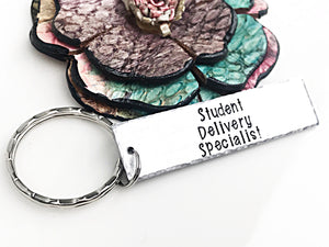 Bus Driver Gift Keychain for End of School Year or Holidays - Lasting Impressions CT