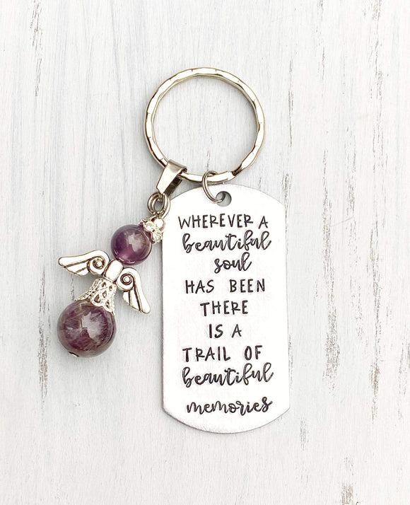 Wholesale | 1 pc | Memorial Beautiful Soul Keychain