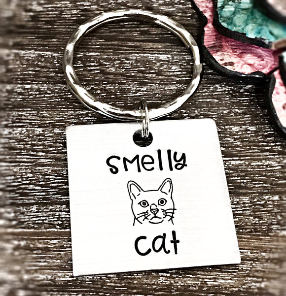 FRIENDS Themed Gift TV Show 25th Anniversary Smelly Cat Key-Chain Gifts For Friends - Lasting Impressions CT