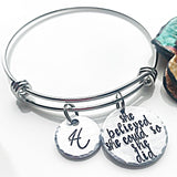 Graduation Bracelet for Daughter, Class of 2018, Graduation Gifts, Graduation Jewelry - Lasting Impressions CT