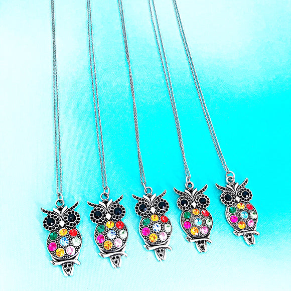 WHOLESALE Owl Necklaces - Lasting Impressions CT