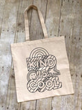 Color Your Own Canvas Tote - Handmade in the USA - Lasting Impressions CT