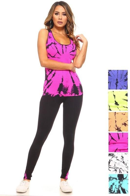 Racerback Waist Length Sleeveless Tank Top - Lasting Impressions CT