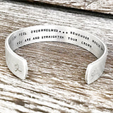 Mother Daughter Cuff Bracelet Wear Your Crown - Perfect Gifts for Daughters