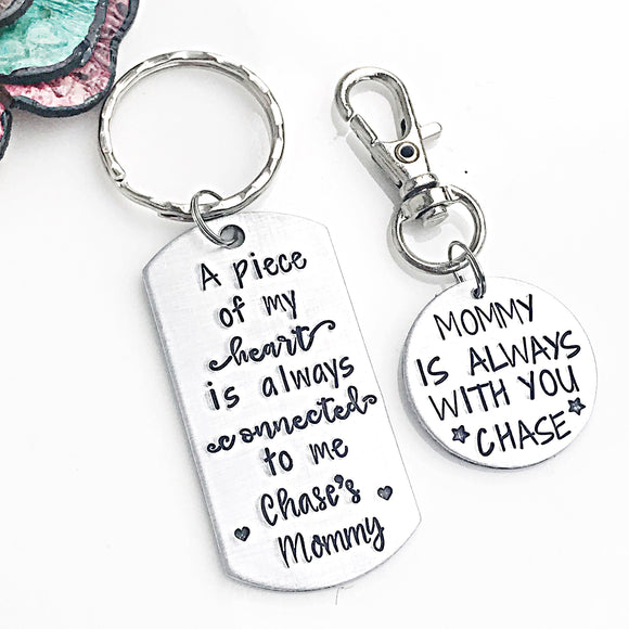 Back to School Gift for Son - Mother Son Set - Kindergarten - Lasting Impressions CT