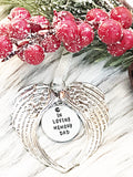 WHOLESALE | 1 piece | Angel Wing Ornament