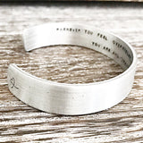 Mother Daughter Cuff Bracelet Wear Your Crown - Perfect Gifts for Daughters - Lasting Impressions CT