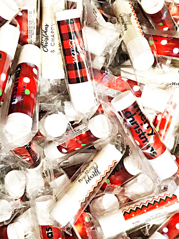 Wholesale | 100/50/25 PCs | Holiday Lip Balm assortment