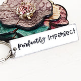 Perfectly Imperfect Cuff Bracelet, Bangle Bracelet, Necklace, or Keychain